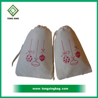 Nature Jute Burlap Drawstring Gift Bag