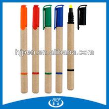 Eco Ballpoint Pen 2 in 1 Highlighter and Ballpoint Pen