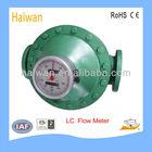 LC Oval Gear Diesel Oil Flow Meter/fuel oil flow meter for diesel, kerosene,light and heavy oil measurement