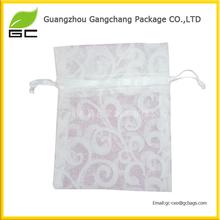 Wholesale decoration white organza bag wedding favors