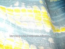 fabrics & garments iN tie & dye style india SHIBORI ABHAR WORK JAIPUR bandhage tie & dye jaipur products handmade handart tyeing