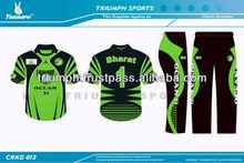 Printed cricket team uniforms