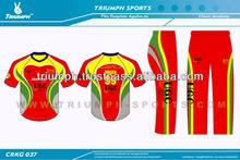 customized cricket team uniform