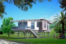 luxury customized light steel villa with CE