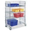 Portable Wire Shelf Cart Unit