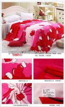 plaid golf fashion micro fleece blanket