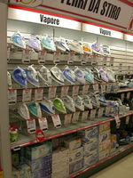 CAEM Electronics Display Shelving