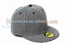 Hot sale ribstop cotton promotion snap back cap