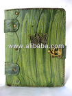 Handmade book style butterfly pendant leather tablet PC case cover