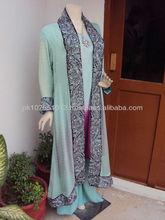 Pakistan over coat style