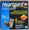 HEARTGARD PLUS 6 CHEWABLE BLUE