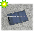 folding solar charger 5W mono/poly crystalline silicon panels