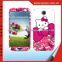 for galaxy s4 mobile phone cover hellokitty paste form