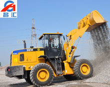 SEM 4WD Hydraulic 3T Small Wheel Loader with Perkins Engine for sale