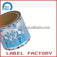 image transfer label on plastic