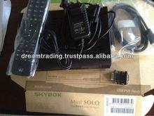 New Arrival Skybox mini solo,Enigma2 Linux satellite receiver / Vu SOLO 2