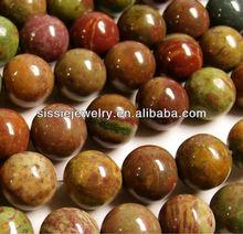 Rainbow Jasper - 12 mm round beads
