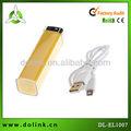 Mini tamaño pequeño Mini 2200 mah banco de la energía para el teléfono móvil y la almohadilla