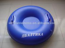 PVC inflatable towable tube, inflatable water ski tube / snow tube / snow slide