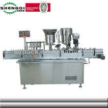 automatic small dose liquid filling and cupping machine for plant oil