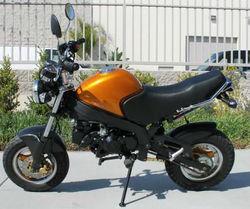 125cc Midsize Street Legal Motor Bike