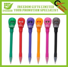 Personalized Promotional Skull LED Pen