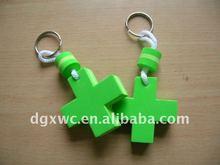 cartoon EVA foam key chain