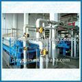 Mostaza 50-600tpd máquina refinería de petróleo de la planta