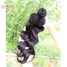 2015 hot selling!Most popular Loose wave weaving,100% virgin Brazilian hair
