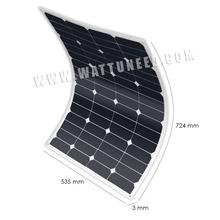 MX FLEX Solar Panel Sunpower 60Wp