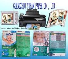 Melhor vender a4*from 115g para 230g fabricar papel fotográfico brilhante-