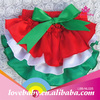 High quality cheap price for Christmas ruffle baby bloomers