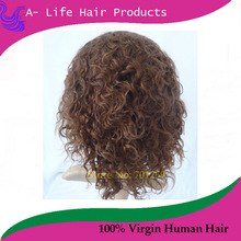 Short Afro Curl Lace Wig Black& Brown Short Afro Curl Lace Front Wigs