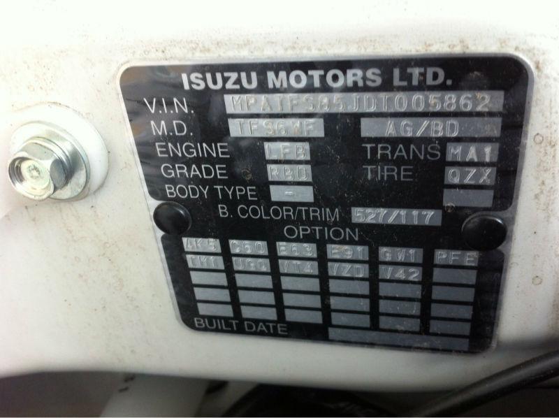 ISUZU DMAX DOUBLE CAB AUTOMATIC