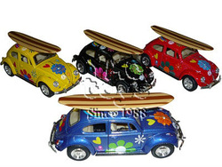 1:32 1967 CLASSIC VW OLDSCHOOL WOOD SURFBOARD