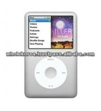 I pod classic / 160GB / 2.5inch / Mp3 / Color screen / High quality sound / Mp3 player