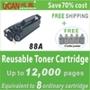 Factory price! 2013 Hot Sale! 18000 pages, laser cartridge 88A for HP LJ P1008, ink cartridge refill machine