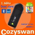 BEST MK809 II mini pc Bluetooth rk3066 android 4.2 HDMI Dongle android 4.1 mk809ii mini pc mini pc android quad