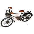 ferro antigo artesanal de bicicleta