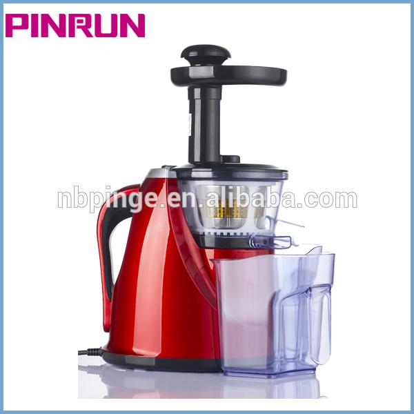 Hot sale!2013 Pinrun AC motor orange slow juicer Silence/PEI/ULTEM/Screw type with GS CE CB RoHS