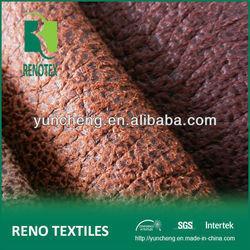 Crushed Emboss Suede Sofa Fabric w/ Backing