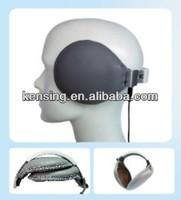 foldable design Hi-fi stereo earmuff headphone with 3.5mm female plug