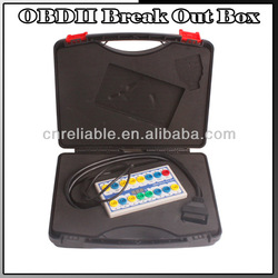 Hot selling OBDII Protocol Detector & OBDII Break Out Box with high quality and lower price