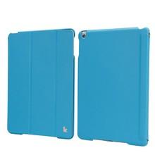 For elegant design leather ipad air cover