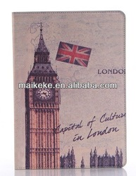 For ipad air Leather case Wallet style The British flag style of England style