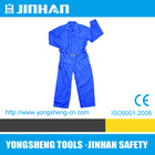 JINHAN cheap working protective overalls, mens blue overall work uniform,en471 anti-static safety workwear
