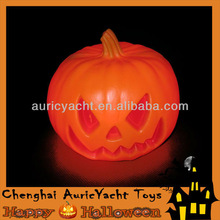 halloween lighted pumpkins, led orange light halloween pumpkin ZH0906585