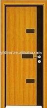 beautiful interior solid oak wood door natural color , bedroom door ,living room door