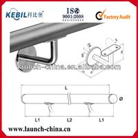 304/316 mirror/satin finish handrail support brackets for stair handrail railing/pipe/tube/balustrade/wall panel