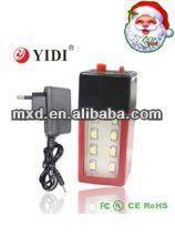 fan radio emergency light